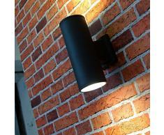 Applique XXL anthracite applique Up Down 2x E27 jusqu éclairage de cour lampe dextérieur lampe de jardin entrée de jardin