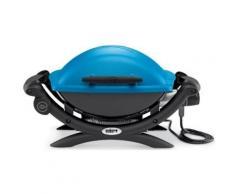 Barbecue électrique WEBER Q1400 Bleu,