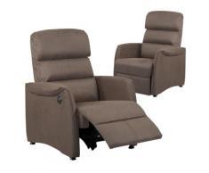 Lot de 2 fauteuils de relaxation électrique, Cinéma,