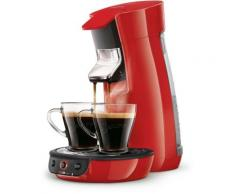 Machine à café Senséo PHILIPS - Rouge HD7829.81,