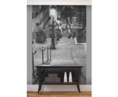 Papier peint les escaliers de Montmartre Intissé mat,
