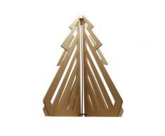 Sapin de noel en carton Prévert, 114 cm