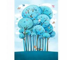 Papier peint enfant - Dans les arbres,