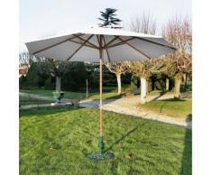 Parasol en bois Pro Loisirs diamètre 3 m,