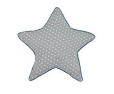 Coussin étoile en coton Nuages,