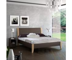 Lit métal et bois Ravello, 140 x 190 cm