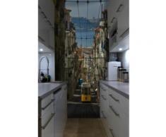 Papier peint paysages Lisbonne Intissé mat,