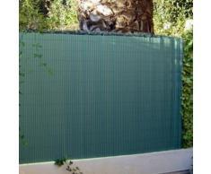Canisse brise vue couleur vert - JET7GARDEN (Dimensions : 1,80 m x 3 m),