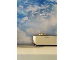 Papier peint ciel et nuages Intissé mat,
