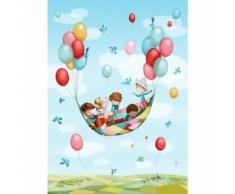 Papier peint enfant - Dans les airs,