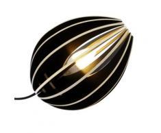 Fève - lampe à poser en bois,
