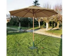 Parasol en bois Pro Loisirs diamètre 3.50 m,