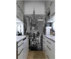 Papier peint New York Panorama de Manhattan Intissé mat,