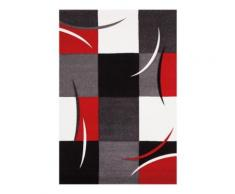 Tapis de salon rouge California AlloTapis, 200 x 290 cm