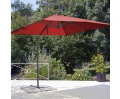 Parasol déporté carré 2.5 x 2.5 m Pro Loisirs,