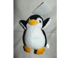 Doudou H & M Pingouin H Et M Plush Conforter 17 Cm Environ Peluche Noir Jaune Blanc