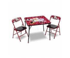 TABLE ET CHAISES MINNIE MOUSE