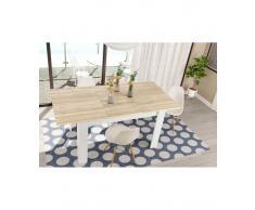 TABLE DE SALLE A MANGER A RALLONGE JIMENA