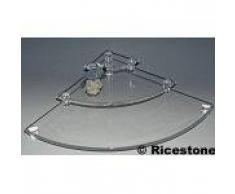 2c) Tablette vitrine : 3x plateaux acrylique d'angle. Code: TA91A