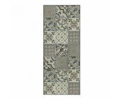 VIstacimen3 Tapis de cuisine carreaux de ciment 50x120cm en vinyle Alinea