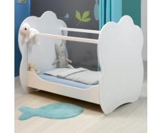 Cloud Lit bébé blanc (60x120cm) Alinea