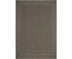 Tapis extérieur et intérieur 200x290cm coloris marron Marron