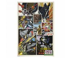 Affiche 91x61cm Star Wars Multicolore