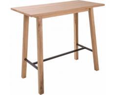 Table haute rectangulaire - L117cm