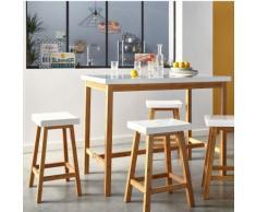 Table haute rectangulaire L120cm - H90cm