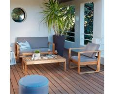 Paname Salon de jardin en acacia (4 places) Alinea