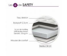 Matelas mousse BULTEX Nano&Protect 24cm (140x200cm)