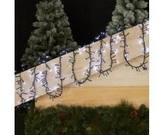 Guirlande électrique à Led - Coloris blanc pur - 5m Blanc