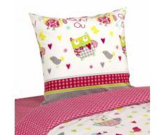 Housse de couette enfant et 1 taie d'oreiller pour lit évolutif Multicolore