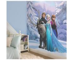 Frozen Poster XXL intissé motifs La Reine des Neiges Alinea Multicolore