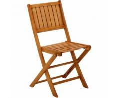 Ronda Jardin Chaise de jardin pliante en acacia massif Alinea