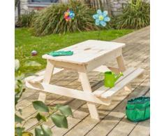 Ulrik Table bac à sable en bois pour enfant Alinea Naturel