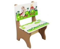 Chaise enfant en bois déco chambre bébé garçon fille Fantasy Fields TD-0078A