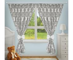 Rideaux décoratifs de luxe pour chambre de bébé assortis avec nos parures de lit de chambre denfant