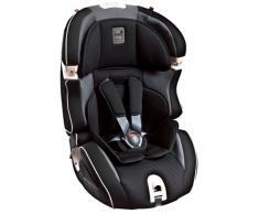 Kiwy Siège Auto pour Enfants - Groupe 1, 2, 3 - SLF123 Q-Fix - ECE R44/04 - Carbon
