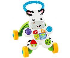 Fisher-Price Mon Trotteur Zèbre pour apprendre à marcher avec musique et activités déveil, pour bébé de 6 mois et plus, DLD80