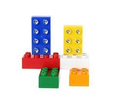 Xanlite DSTAXEC6 Jeu de Construction Cube Lumineux