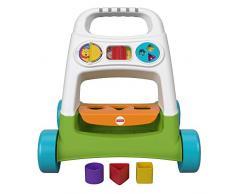 Fisher-Price Mon Trotteur Basique, jouet à pousser pour apprendre à bébé à marcher, activités déveil, 6 mois et plus, FYK65