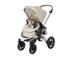 Bébé Confort Nova 4 roues, Poussette Naissance Tout-terrain, Confortable, de la Naissance à 3,5 ans (0-15 kg), Nomad Sand