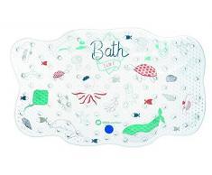 Bébé Confort 3107202600 Tapis de Bain Antidérapant pour Bébé/Enfant Water World Bleu