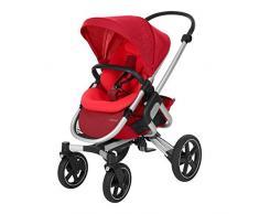 Bébé Confort Nova 4 roues, Poussette Naissance Tout-terrain, Confortable, de la Naissance à 3,5 ans (0-15 kg), Vivid Red