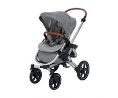 Bébé Confort Nova 4 roues, Poussette Naissance Tout-terrain, Confortable, de la Naissance à 3,5 ans (0-15 kg), Nomad Grey