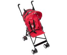 Safety 1st Crazy Peps Poussette Canne Fixe, Super Pink