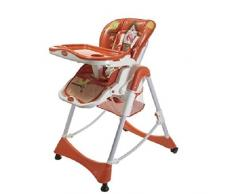 Aziamor AZ55-ROS Chaise haute Prima Pappa Rouge