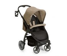Hauck / Poussette canne Lift Up 4/ avec position couchée, pliage compact / pour enfants de la naissance à 25 kg, Melange Beige (Beige)