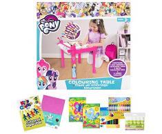 Little Helper en semble Table, Bureau et Chaise en Bois pour Enfants avec Pot à Crayons/Pinceaux Funstation Solo Toddler de Little Helper Chalky